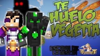 TE HUELO VEGETTA!! - ESCAPA DE LA BESTIA C/ VEGETTA - MINECRAFT