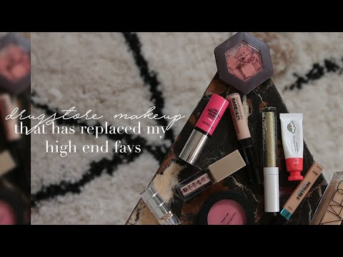 Drugstore Makeup That's Replaced Some of My High End Makeup Favs | Mariah Leonard