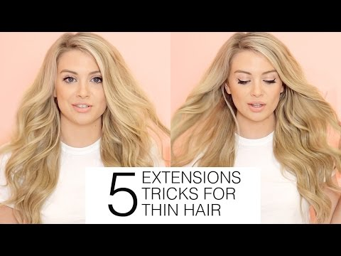 Best type of hair extensions for fine thin