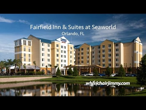 Fairfield Inn and Suites Orlando at SeaWorld - Wheelchair Accessibility Review