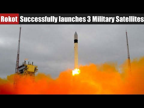 Russia's Rokot carrier-rocket Successfully launches 3 military Satellites from Plesetsk cosmodrome