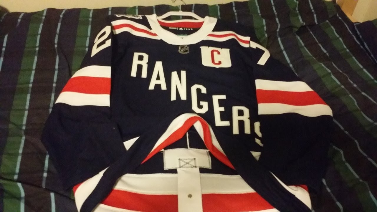 buy popular e0f34 0a893 *In Depth Review* Ny Rangers 2018 authentic winter classic jersey