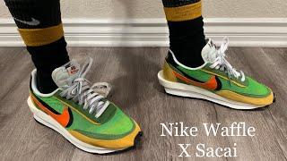 Nike LD Waffle Sacai Green Gusto Multi