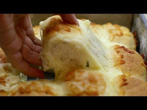 NO-KNEAD CHEESEY PULL-APARTS recipe – BÁNH MÌ PHÔ-MAI KHÔNG CẦN NHỒI