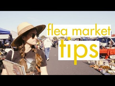 How to Shop at the Flea Market | Alli Cherry