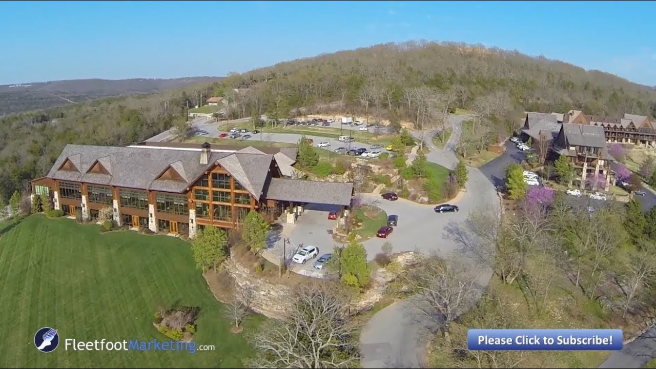 Big Cedar Lodge Branson Missouri Aerial Video Table Rock Lake YouTube