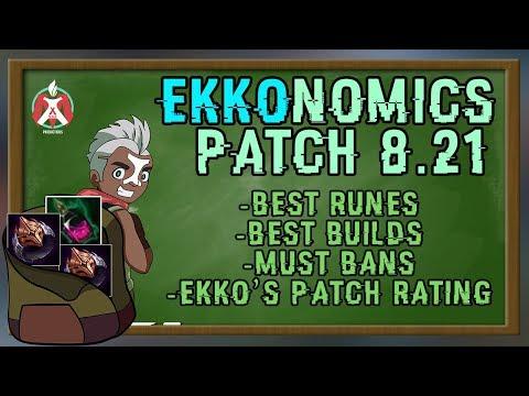 Maxske's Ekko | EKKONOMICS 8.21 ! EVERYTHING EKKO FOR PATCH 8.21! LAST S8 PATCH!
