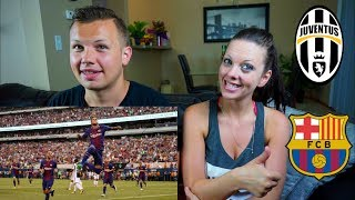 Juventus vs Barcelona International Champions Cup REACTION!!