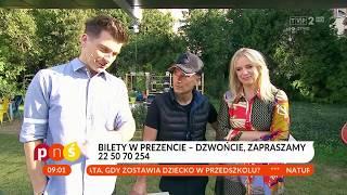 """""""Pytanie na śniadanie"""" – Stachursky w Kielcach"""