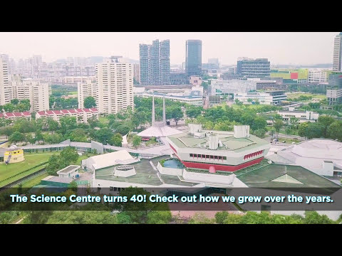 Science Centre Singapore 40th Anniversary