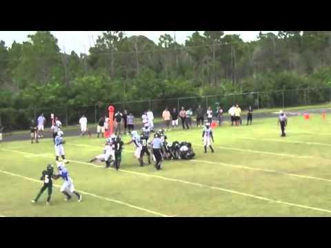 2013 Linebacker Rashaan Berry - Westminster Christian School - Miami, FL