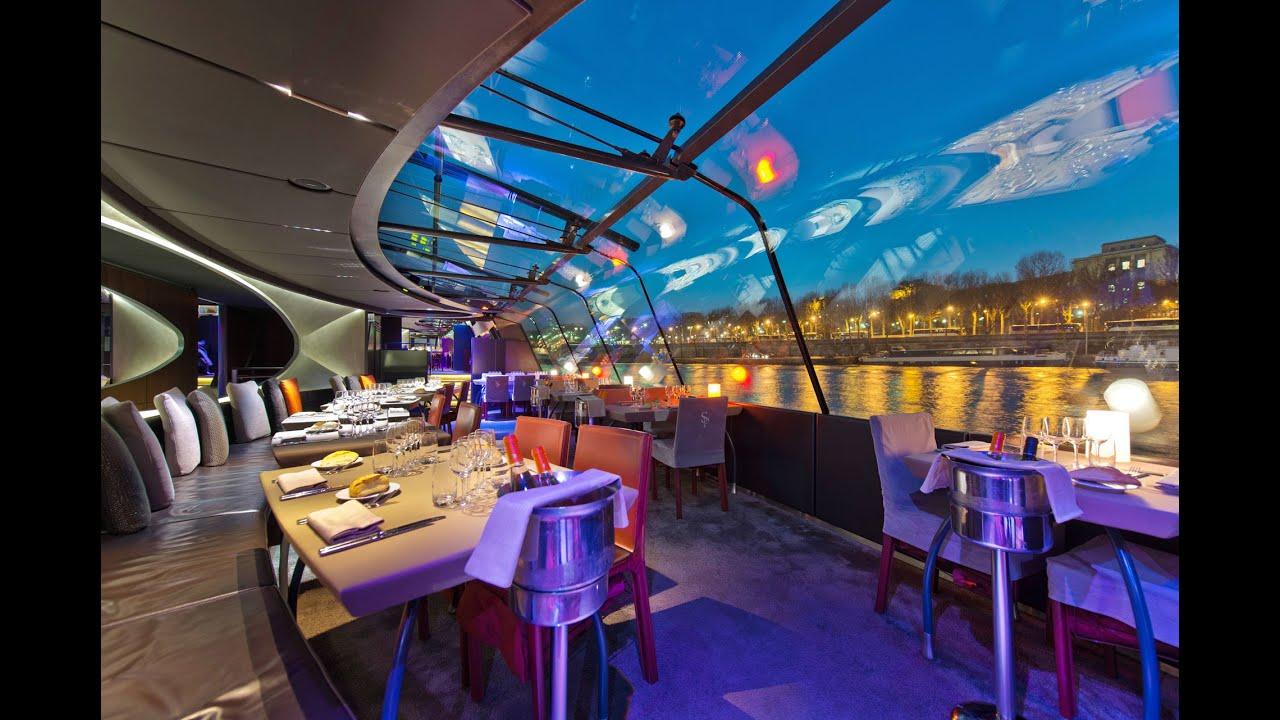 dinner cruise on the river seine bateaux parsiens youtube. Black Bedroom Furniture Sets. Home Design Ideas