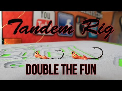 How To Tie An Inshore Tandem Rig For Artificials