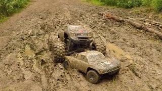 Traxxas X-Maxx & Slash, Mud Bash! thumbnail