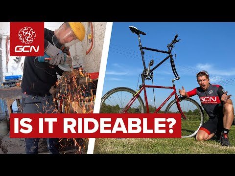 We Built A Tall Bike! | Crazy GCN Bike Build