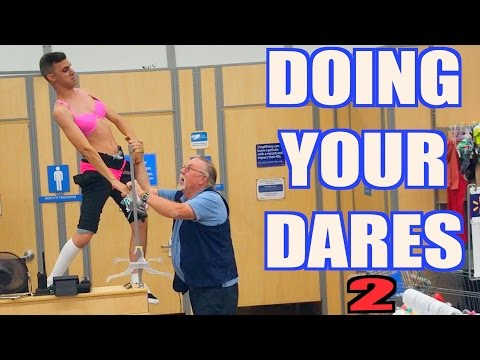 Thumbnail: DOING YOUR DARES AT WALMART 2 ( SECURITY KICKED US OUT )