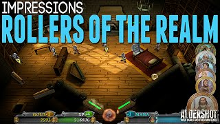 Rollers of the Realm (PC) : Impressions (Indie game RPG pinball gameplay and review)
