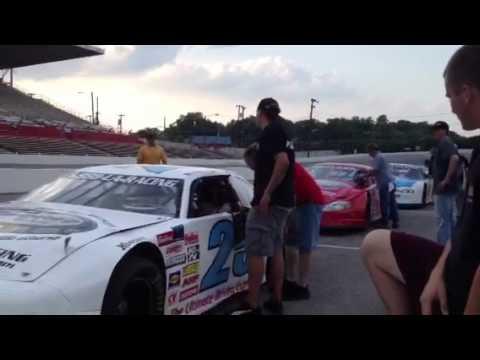 Rhodes at LA Raceway