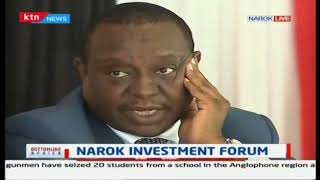 Narok investment forum: Allow the Masaai women to sell their products Tanui Governor of Narok says