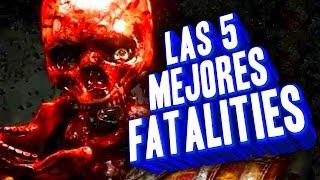Las 5 MEJORES FATALITIES de Mortal Kombat (Lonrot)