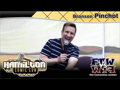 Bronson Pinchot Perfect Strangers Hamilton Comic Con 2017 Full Panel