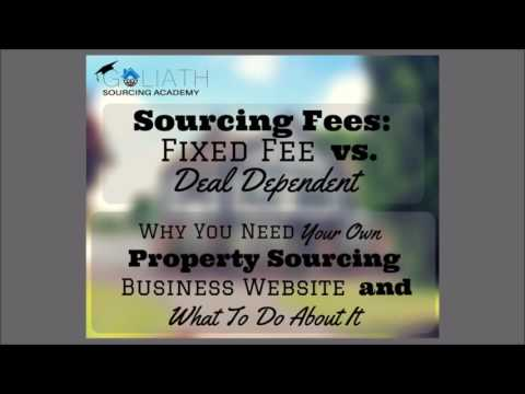 Ep05: Sourcing Fees; Why You Need Your Own Business Website and What To Do About It