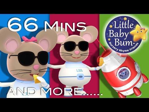 Three Blind Mice | Plus Lots More Nursery Rhymes | From LittleBabyBum!