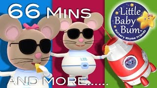 Video Three Blind Mice | Plus Lots More Nursery Rhymes | 66 Minutes Compilation from LittleBabyBum! download MP3, 3GP, MP4, WEBM, AVI, FLV Oktober 2017
