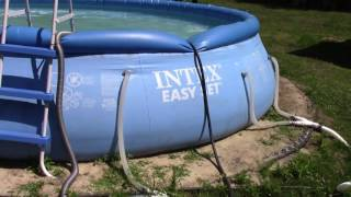 Home Made Pool Vaccum For Above Ground Intex Pool