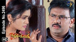 Manasu Mamata | 19th January 2019 | Full Episode No 2496 | ETV Telugu