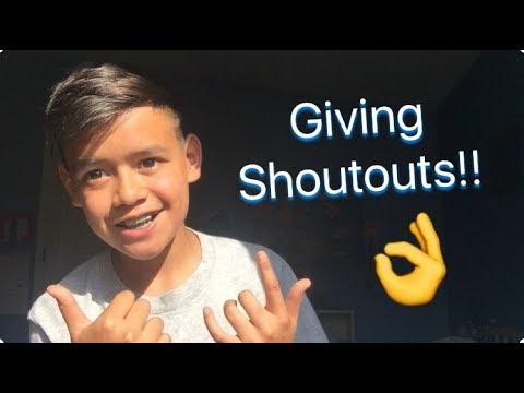 Giving Yall Shoutouts!!!!