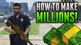 GTA 5 Online - How To Make Millions Completing Daily Objectives! Easy Money & RP Online!