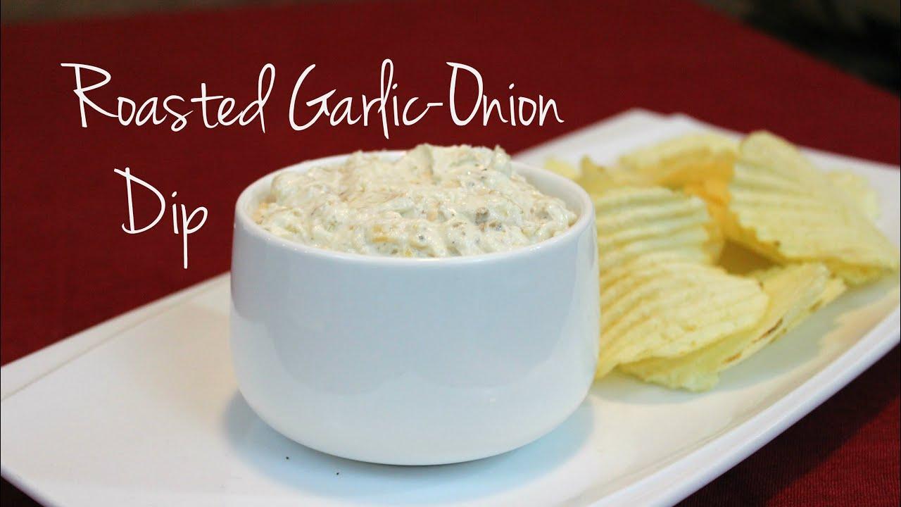 Roasted Garlic-Onion Dip   Josh Pan - YouTube