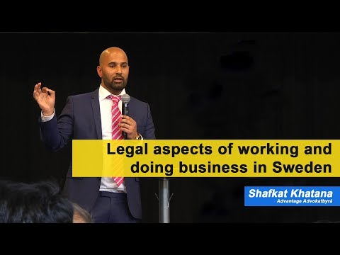 Legal aspects of working and doing business in Sweden
