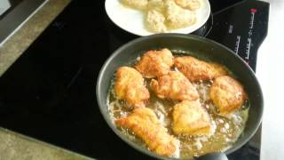 blanc de poulet pane sans gluten-breading chicken gluten-free- صدر الدجاج مقلي خالي من الجلوتين