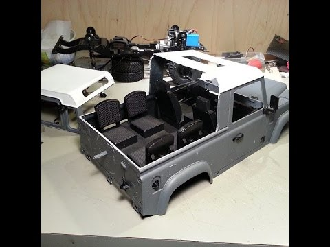 Rc4wd Defender D90 Pickup Conversion Well My Version Of