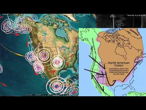 9/07/2017 -- Earthquake Forecast -- Threat of very large activity for Pacific , Americas, Asia + EU