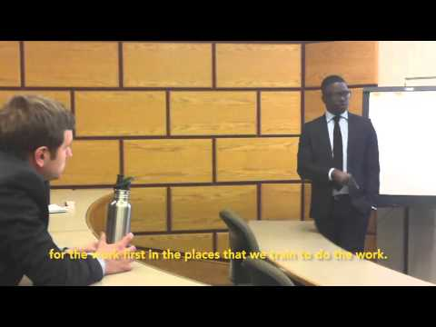 Akon Lighting Africa - Thione Niang @ the Johnson School, Cornell Uiversity