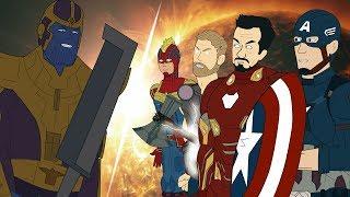 Мстители против Таноса — Финальная битва