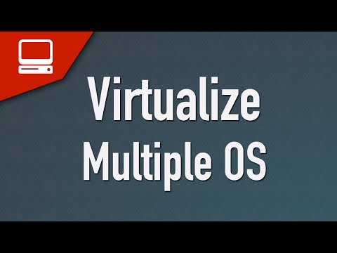 [ Arabic ] Virtualization Install Multiple OS On The Same Machine