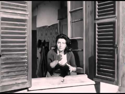 """L'Insegnante di Dizione-ANNA MAGNANI-Estratto da """"Bellissima"""" Film CULT"""