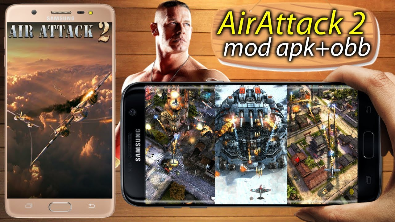 AirAttack 2 mod apk+obb Download || By Android Master