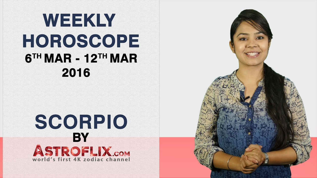 Scorpio Weekly Horoscope Prediction - jakubzidek cz