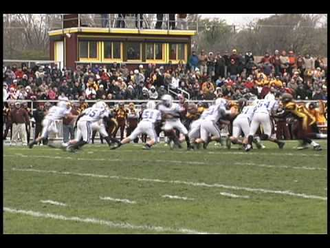 Montini Varsity Football vs St. Francis class 5A Playoff week 3