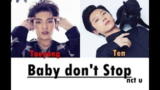 NCT U – Baby Don't Stop LYRICS (Color Coded)