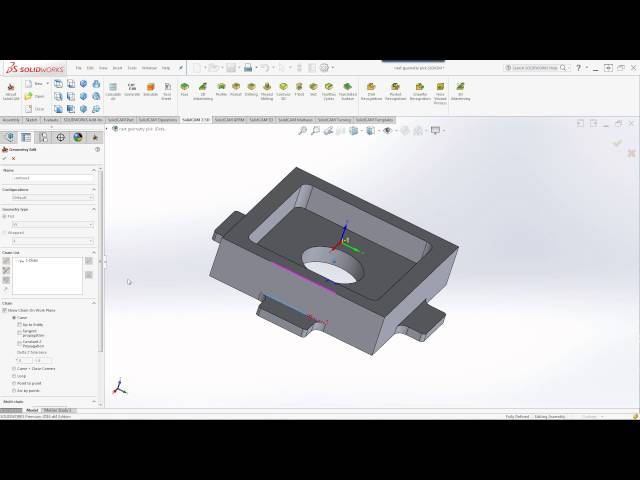 SolidCAM 2016 – Multi Chains via Control Button