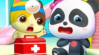 Bayi Panda Jatuh Saat Berlari | Lagu Obat P3k | BabyBus Bahasa Indonesia