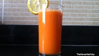 Carrot Orange Juice Flat Belly Diet Drink For Quick Weight Loss Recipe Using Slow Juicer