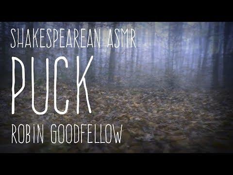 ASMR Andy - Shakespearean ASMR - Puck Robin Goodfellow [soft speaking] [whispering]