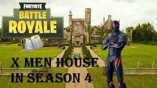 New X-Men House Secret Location in Season 4 (Fortnite Battle Royale)